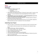 MM305 Unit 7 Project 2 Solution.docx