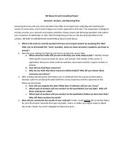 Research Analysis and Reporting Plan Instructions Spring 2015(1) (1)