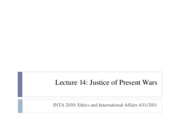 Lecture+14+Justice+of+Present+Wars