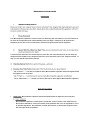 Informative Outline