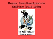 Russian Revolution to Stalinism 08