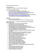 ECON 388 Final Study Guide SP08 (1)