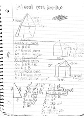 math classnote: lateral area part two