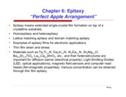 chapter 6 epitaxy