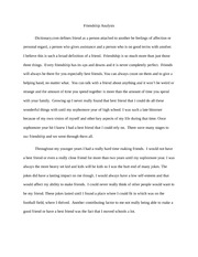 Relationship Analysis paper