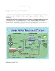 Wastewater treatment plant.docx