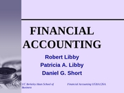 accounting lecture1 Accounting a lecture notes lecture 1 - accounting introduction lo1: the purpose of accounting accounting: the process of identifying, measuring and communicating economic information to permit informed judgements.