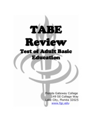 tabe-review