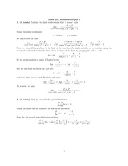 Quiz3 With Solutions