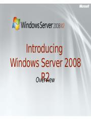 Windows_Server_2008 R2_Overview