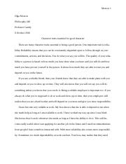 phi ethics wake tech page course hero 3 pages philosophy essay 1