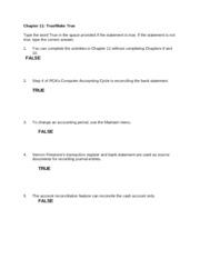 Chapter 11 Postclosing Trial Balance 1 1500