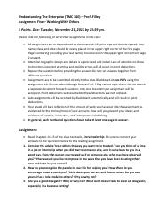 Fall 2017 B - Filley - TMC 110 - Assignment Five.pdf
