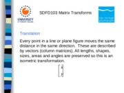 Maths Matrix_Transforms