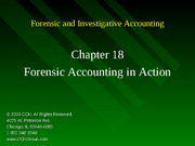 4Ed_CCH_Forensic_Investigative_Accounting_Ch18