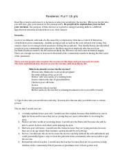 Pandemic Flu Exercise(2).docx