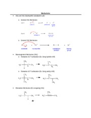 Orgo Lab Final Exam Review (Mechanisms, Safety Regulations,etc.)
