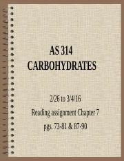 AS 314_16 Carbohydrates.ppt