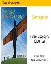 GEG 102-Blackboard (Topic 8-Cemeteries).pdf