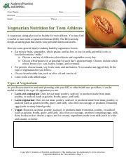 Vegetarian_Teen_Athlete_Nutr_Ther