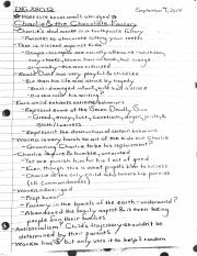 Class Notes on Charlie and the Chocolate Factory
