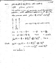 MATH 105 Sum of Solutions Notes