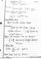 Integration Rules, Initial Value