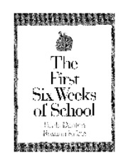 The First Six Weeks of School (3-4).pdf