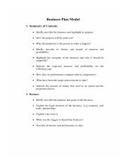 Business Plan Model _ Free Business Plan Model Forms.pdf