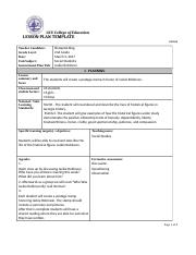 sundials gcu college of education lesson plan template 03 2014