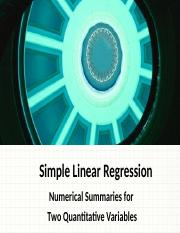 M04A Linear Regression