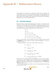 Appendix B Mathematics Review