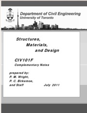 CIV100Complementary Notes 2011