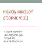 5.2 Inventory Management (Stochastic model).pdf