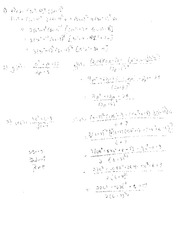 Exam B Solutions on Applied Calculus