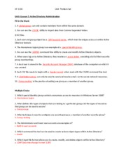 unit 6 problem set 1 View notes - unit 6 problem set from client ser nt1230 at itt tech grand rapids with a choice of recovery tools what tool is not included c 7 place the following.