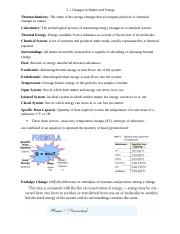 5.1 Changes in Matter and Energy Notes + Homework.docx