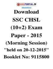 Download-SSC-CHSL-Exam-Paper-2015-held-on-20-12-2015-Morning-Session-Booklet-No-9115800