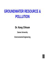 Groundwater pollution.pptx