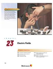 23 - Electric Fields