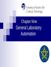 Chapt 9 LabAutomation rev.ppt