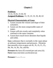Characteristics of Gas Notes