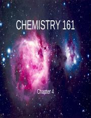 CHEM161-Chapter 4 Lecture.ppt