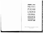 Wright Politics of Design in French colonies