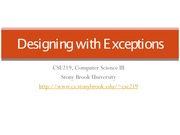 L11-DesigningWithExceptions