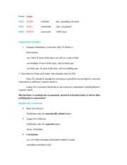 Cognitive Science Notes 3