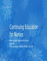 Continuing Education for Nurses.pptx