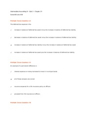 Intermediate Accounting III - Accounting 305 - Quiz 3 - Chapter 19.docx