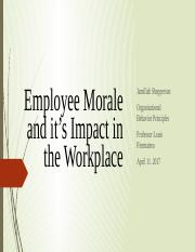 Employee Morale and it's Impact in the Workplace.pptx