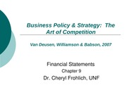 Strategic Management and Business PolicyChapter 9 Power Point